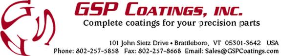GSP Coatings, Inc.